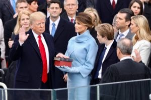 Donald Trump swearing-in ceremony