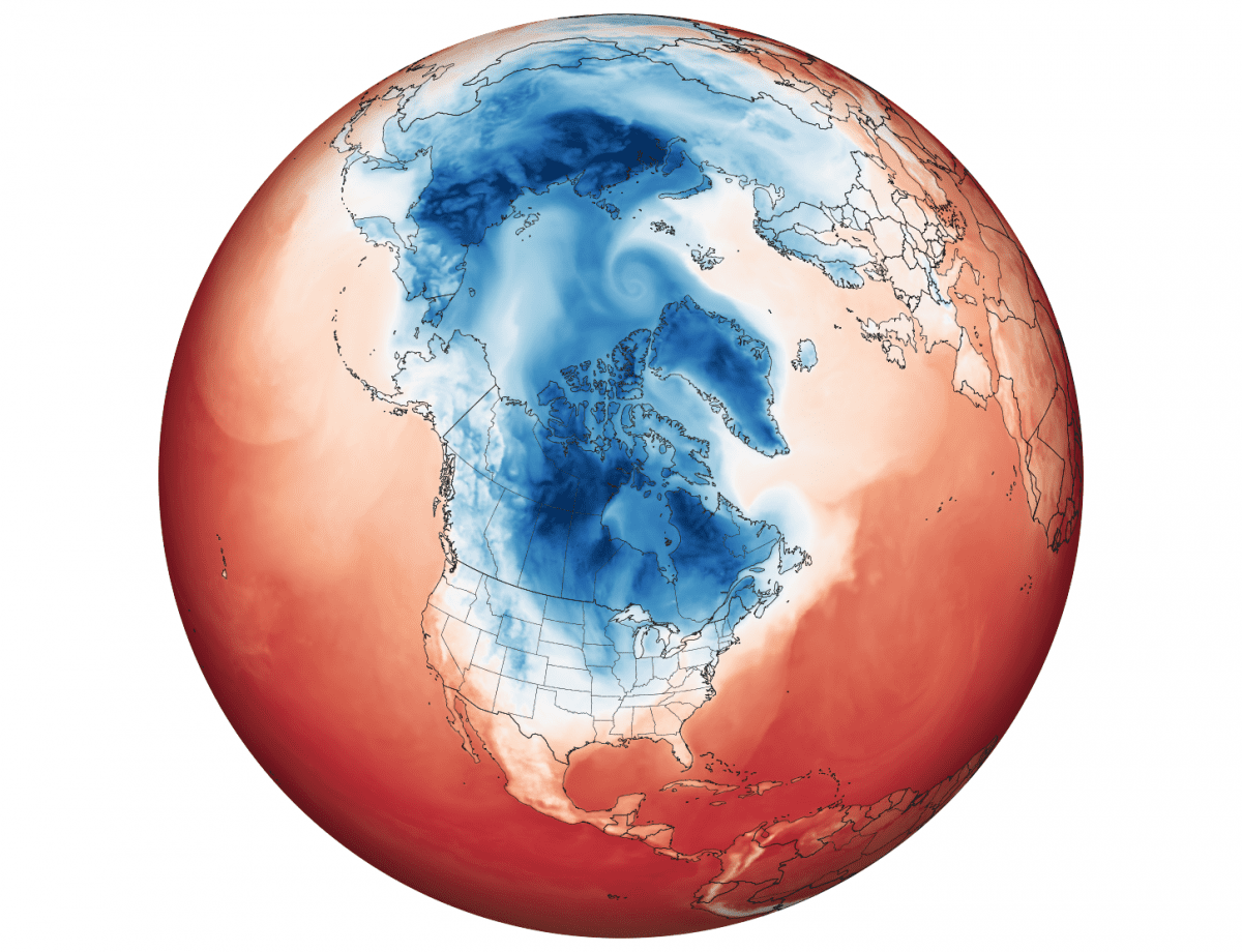 7. Polar Vortex, F4 Tornado strikes North America and Havanna, Cuba