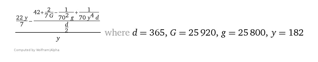 """Called, """"Pi: The Rod of Enoch"""". This simple formula locates a position in space/time of a straight line surrounded by its circle, which by definition is π, discovered and posted as Dorian first formed."""